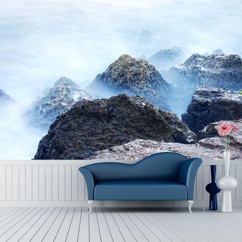 3D Himmel Berggipfel 9998 Tapete Wandgemälde Tapeten Bild Familie DE Lemon