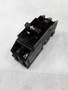 NEW  ZINSCO 15 AMP  CIRCUIT BREAKER 2-POLE 120//240 TYPE QC QC15