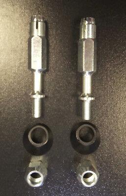 pair Italia for Vespa PX /& LML Star by F.A Mirror fitting kit stem nut rubber