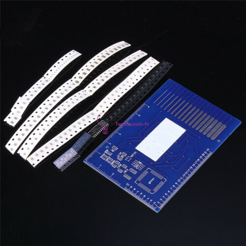 DIY SMD Rotating LED SMD Components Soldering Practice Board Skill Training Kit