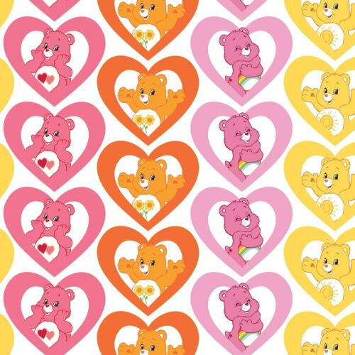 Care Bears-Corazones caliente por CAMELOT FABRICS 100/% Tela De Algodón