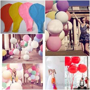 Latex-Geant-Ballons-36-034-Fete-Anniversaire-Mariage-Anniversaire-Parti-Decor-DIY