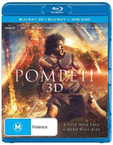 1 of 1 - Pompeii 3D : NEW Blu-Ray 3-D