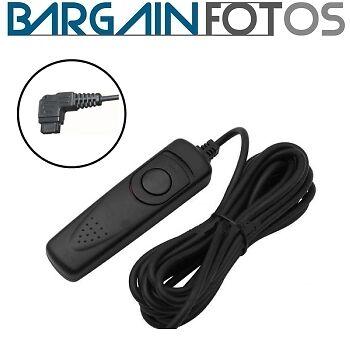 Mando cable 3 metros para Sony a33 a35 a55 a65 a77 a99 a100 disparador remoto