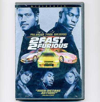 2 Fast 2 Furious 2003 Street Racing Movie Dvd Paul Walker Tyrese Eva Mendez 25192297526 Ebay