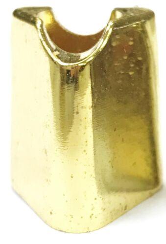 #17-2 Smoke Head Stop 2ct Eclipse Fancy Gold Metal Cigarette Snuffer