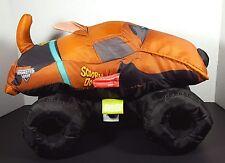 """Scooby Doo Monster Jam Monster Truck Stuffed Nylon Toy 2015 14"""""""
