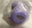 Tupperware Shape o Toy Ball Purple and Pink w// White Shapes ~ Learning Toy New