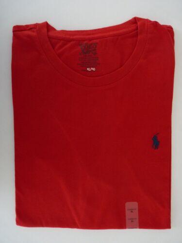 NWT Polo Ralph Lauren Classic-fit Solid Man/'s Crew Neck T-Shirts S M L XL 2XL