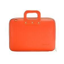 "Bombata - Orange Medio Classic 13"" Laptop Case/Bag with Shoulder Strap"