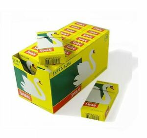 HALF-BOX-10-X-120-Swan-Extra-Slim-Cigarette-Filter-Tips