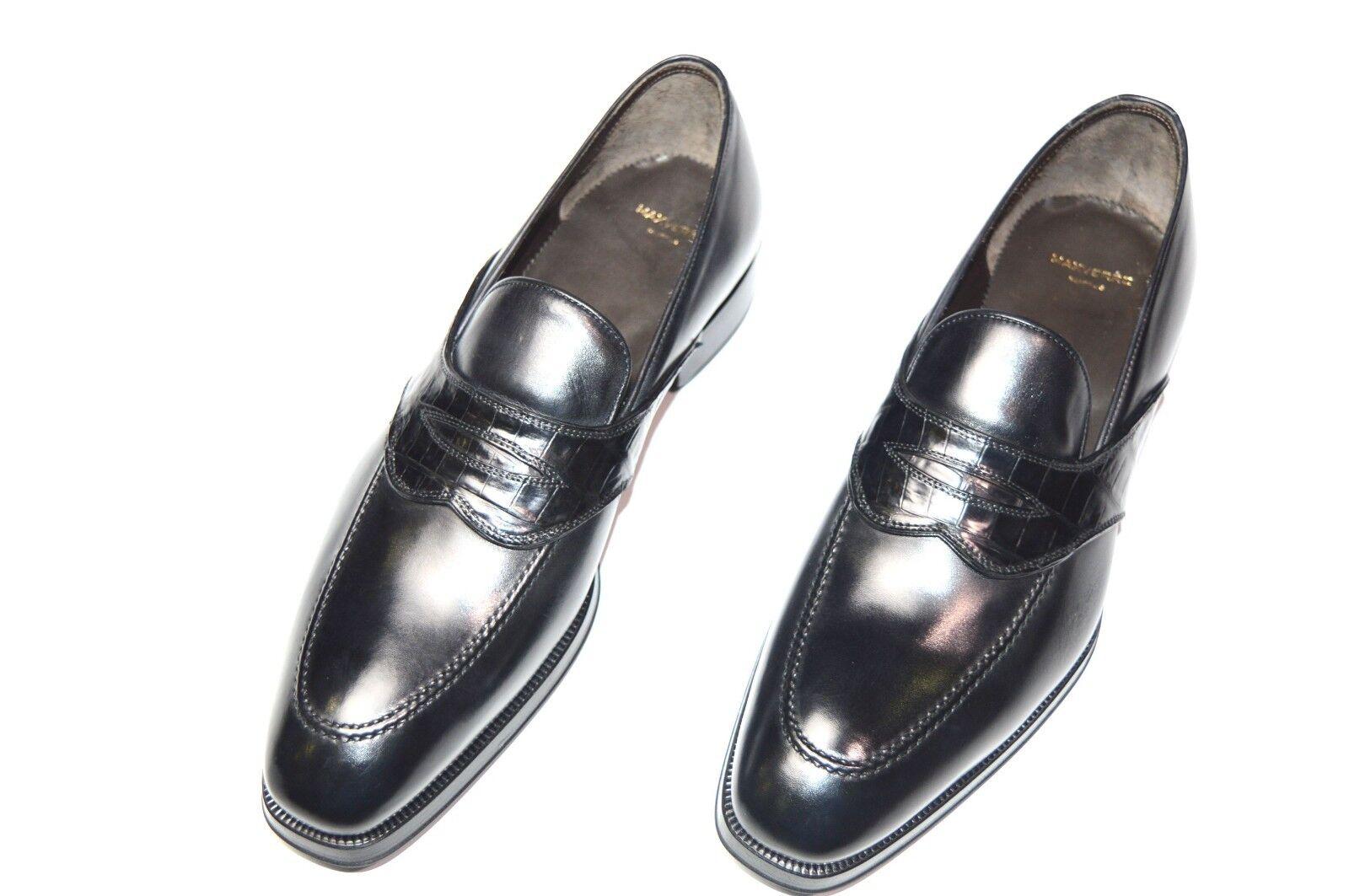 nuovo MAX VERRE Dress Leather LIMITED  sautope Dimensione Eu 41.5 Uk 7.5 Us 8.5 Cod M15 Sautope classeiche da uomo