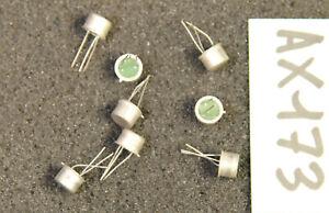 Lot de 8 x transistor 2N1986 Thomson ( AX173 )