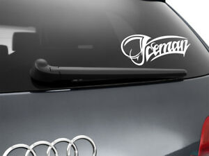 Iceman-Kimi-Raikkonen-F1-Car-Sticker-Window-Showroom-Decal-White