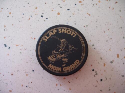 HOCKEY PUCK-SLAP SHOT AT MGM GRAND