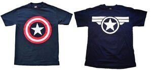 CAPTAIN-AMERICA-CLASSIC-SHIELD-STEVE-ROGERS-costume-tee-t-shirt-S-M-L-XL-2XL-XXL