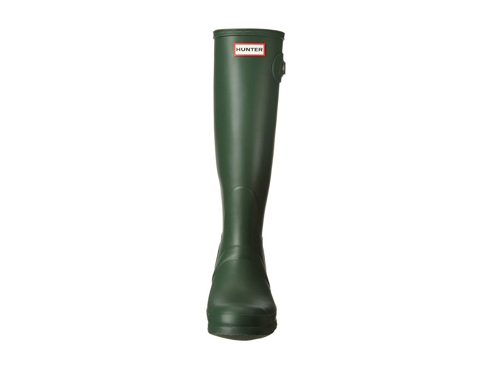 NEW Damenschuhe HUNTER Tall Grün Original RAIN Waterproof  Stiefel Matte Grün Tall  Größe 6 34534c