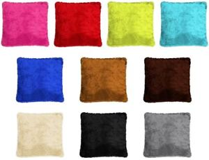 LUXURY-FAUX-FUR-Cushion-covers-Size-18-034-x18-034-filled-or-unfilled