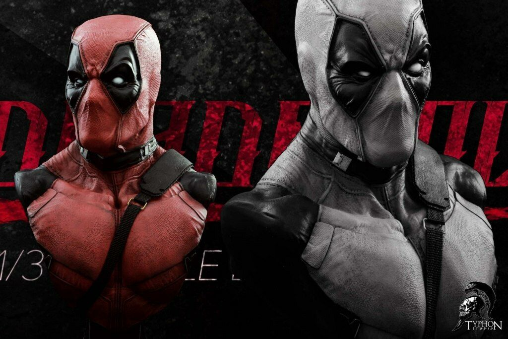Typhon Studio Deadfool Busto 1 3 Deadpool