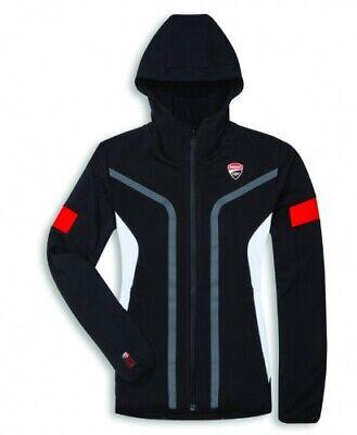 Ducati Original Corse Sweatshirt Damen Soft Shell Kapuzen Jacke Übergangsjacke