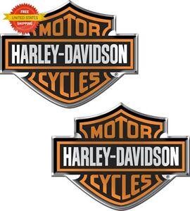 Harley Davidson Logo Rear Window Decal Sticker Car Truck Auto RV