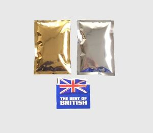 GOLD-amp-SILVER-3-SIDE-SEAL-FLAT-POUCH-170-x-115mm
