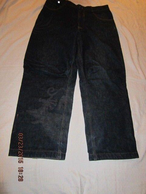 Preowned Men's Size 34 X 30 MAHARISHI bluee Denim Jeans