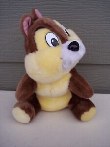 WALT-DISNEY-World-Chip-the-Chipmunk-Plush-Doll-Stuffed-Animal-11-034-Toy-Disneyland