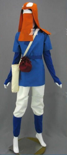 New Japan Anime Miyazaki Hayao Princess Mononoke Ashitaka Cosplay Costume HH