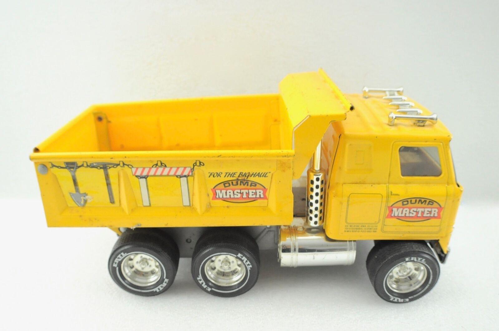 Vintage ERTL camion benne Master  Camion Nice  Réponses rapides