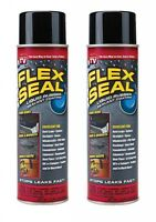 Flex Seal Jumbo Cans Liquid Rubber Spray Sealant Coating 14 Oz (2-pack)
