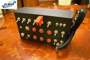 ALMAR-SKRS-Button-Box-urz-dzenie-steruj-ce-do-gier-ATS-ETS-itp-CB-RADIO-STACYJ
