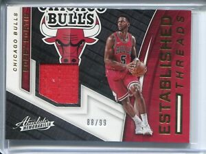 BOBBY-PORTIS-2017-18-Panini-Absolute-Basketball-88-99-JERSEY-Card