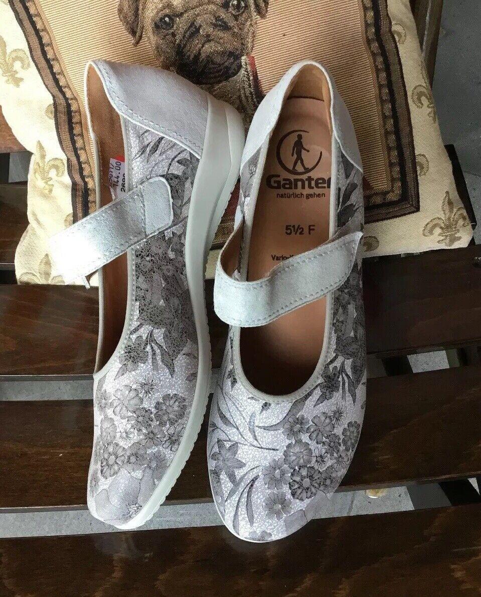 UNGETRAGEN Ganter 5 1 2 F(39 40 ) Damen Schuhe NP 144