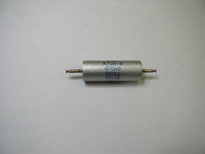820pF 200V 5/% AUDIO teflon capacitors K72P-6.Lot of 2pcs.