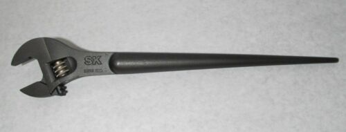 """NEW SK TOOLS MODEL 38516 ADJUSTABLE SPUD WRENCH 1-1//2/"""" x 16/"""" LONG S-K USA MADE"""