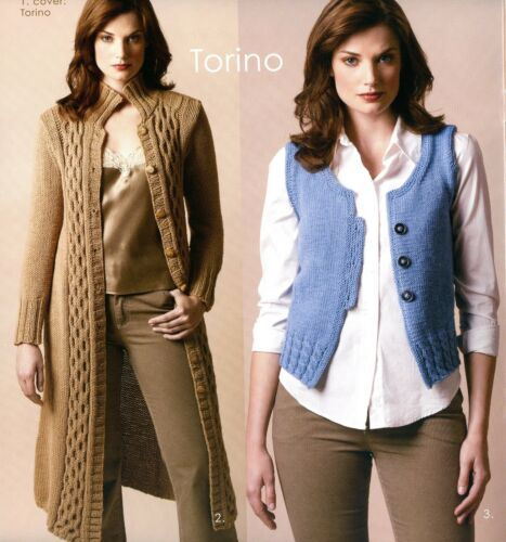 Winter 2006 Knitting Pattern Booklet Tahki Yarns Fall Torino /& Torino Bulky