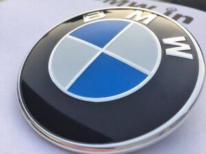 BMW-1-3-5-6-7-Z3-X6-X5-X-E-30-36-46-Series-Badge-Emblem-Logo-Bonnet-Front-82mm