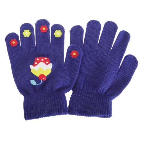 GL596 Childrens Girls Magic Gripper Gloves 1 Pair