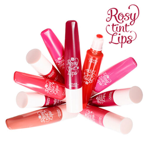 [Etude House] Rosy tint Lips 7g 8Colors(Pick one)-Korea Cosmetic