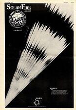 (Sds)8/12/1973Pg5 Album Advert 15x10 Manfred Mann's Earth Band - Solar Fire (tou