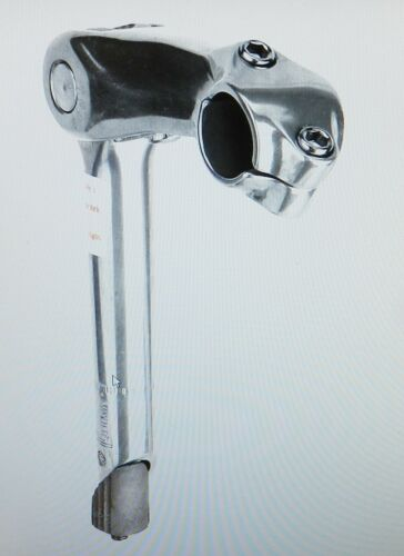 "New Sunlite Adjustable Mountain Bike 1/"" Quill Stem 90mm Length Silver"