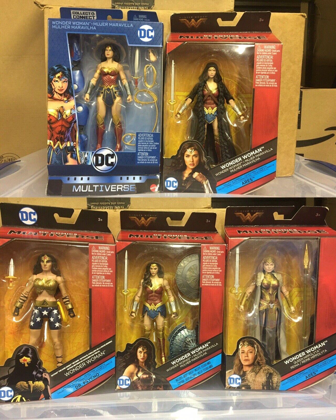 DCEU Multiverse Mujer Maravilla Lote DKR Gal Gadot Hippolyta Jim Lee Nuevo 52 TR