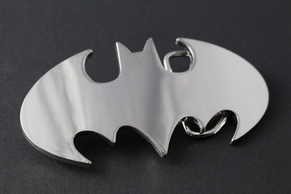 2019 Nouveau Style Batman Miroir Rétro Cut Out Design Boucle De Ceinture Dc Comics Movie Vs Superman Design Moderne