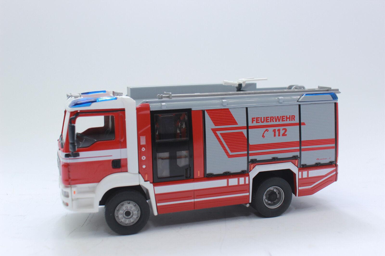 Wiking 043197  Pompiers-Roses Bauer at Sau on TGM 1 43 h0 NEUF dans neuf dans sa boîte  pour votre style de jeu aux meilleurs prix