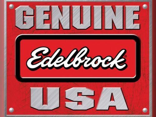 Valve Cover Gaskets 1958-86 SB Chevy 262-400 Edelbrock 7549