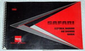 1993    GMC       Safari    Van    Electrical       Wiring       Diagrams      Diagnosis Shop Manual   eBay