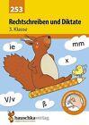 Rechtschreiben und Diktate 3. Klasse von Gerhard Widmann (2016, Geheftet)