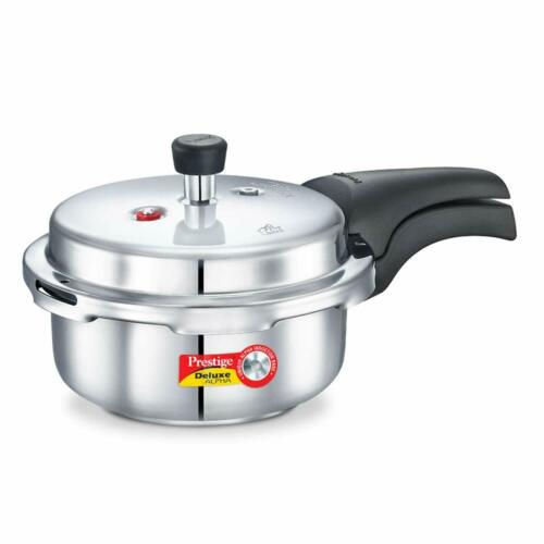 Prestige Deluxe Outer Lid Stainless Steel Pressure Cooker 2 L Halloween UK Gift