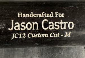 TWINS-JASON-CASTRO-MARUCCI-BAT-COMPANY-GAME-USED-PERSONAL-BAT-CRACKED-4